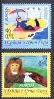 Serbia Sc# 339-340 MNH 2006 Europa - Serbia