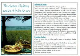 Brochettes D'huîtres, Moules Et Fruits De Mer - éditions Méridionales - Neuve - Recipes (cooking)