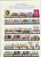 115 Timbres De JERSEY ILE ANGLO NORMANDE - Jersey