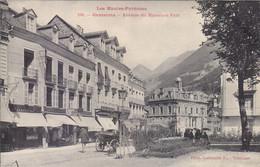 CAUTERETS : TRES RARE CLICHE AVEC CETTE ANIMATION .AV. DU MAMELON VERT. 1925.T.B.ETAT.A SAISIR - Cauterets