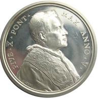 MEDAGLIA - Papa Pio X - Anno V - 1908 - Contro Il Modernismo - Royal/Of Nobility