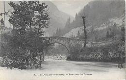 74 - Hte Haute Savoie - BIOGE -Pont Sur La Dranse - - Other Municipalities