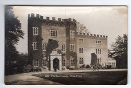 HERTFORD CASTLE - West Front - Nene Series - Hertfordshire