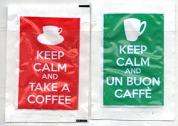 Bustine Zucchero Vuote 'Keep Calm ' (fronte E Retro' - Sugars