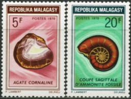 MADAGASCAR 1970 Minerals Shell Shells Animals Fauna MNH - Other