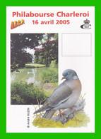 BUZIN - Philabourse 2005 - Pigeon Ramier - Souvenir A5 Vierge (Type 2) - 1985-.. Pájaros (Buzin)