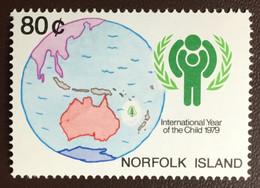 Norfolk Island 1979 Year Of The Child MNH - Norfolk Island
