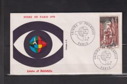 1496  Clovis Foire De Paris 1970 01 05 1970 2280 - Briefe U. Dokumente