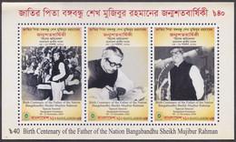 Bangladesh (2020) - Block - /  Father Of The Nation - Bangladesh