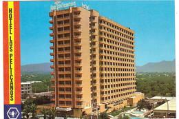 BENIDORM HOTEL LOS PELICANOS CARTOLINA PER BELGIO - Hotels & Restaurants