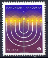 Canada 2019.  Hanukkah,  Hanoukka. Stamp From Booklet.  MNH - Unused Stamps