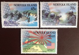 Norfolk Island 1992 Guadalcanal Landing MNH - Norfolk Island