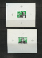 Liberia WINSTON CHURCHILL Proof Sheets  25c 50c In Memoriam MNH Imperf 1966  A04s - Sir Winston Churchill