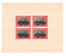 1937 - Propagande Pour Les Parcs Nationaux.  Brousse Forestière De Mitumba. - Blocks & Sheetlets