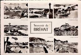 ILE DE BREHAT       ( COTES D 'ARMOR )    SOUVENIR DE BREHAT  _ MULTI-VUES - Gruss Aus.../ Grüsse Aus...