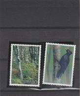 Japon 1995 Yvert  2235 Et 2236  ** Neufs Sans Charnière - Flore Faune Oiseau - Ungebraucht