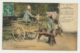 Le Gars De Falaise - Arrêté De Monsieur Le Maire - Charrette - Attelage ânes Folklore - Falaise