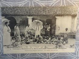 INDE India - KUMBAKONAM ( Indoustan ) Missionnaires De Marie Immaculée - Orphelinat / Repas Des Petits - - India