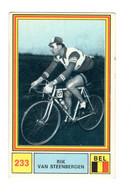 "11849 "" RIK VAN STEENBERGEN "" FIGURINA SERIE SPRINT 71 BY PANINI-MODENA - Cycling"
