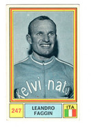 "11851 "" LEANDRO FAGGIN "" FIGURINA SERIE SPRINT 71 BY PANINI-MODENA - Cycling"