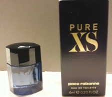 PACO RABANNE PURE XS 6 ML - Miniatures Womens' Fragrances (in Box)