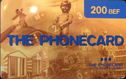BELGIQUE - Prepaid  - The Phonecard  -  200 BEF - GSM-Kaarten, Herlaadbaar & Voorafbetaald