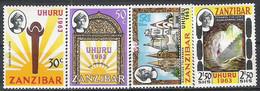 Zanzibar N° 258/61 Yvert NEUF * - Zanzibar (1963-1968)