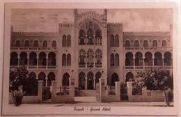 VARIE COLONIE LIBIA TRIPOLI GRAND HOTEL  FORMATO PICCOLO VIAGGIATA 1939 CONDIZIONI BUONE - Libya