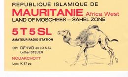 Mauritanie. Carte QSL De 1986. Nouakchott. - Mauritania