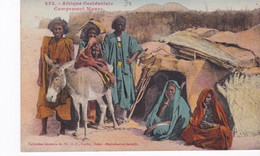 Mauritanie. AOF. Campement Maure, Belle CPA Couleur. éd. Fortier - Mauritania
