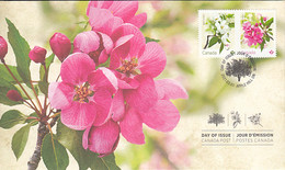 Canada 2021 FDC Maybride, Rosseau Crabapple Blossoms - 2011-...