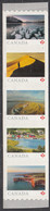 Canada 2020 Strip Of 5 Ex Coil From Far And Wide - Unused Stamps