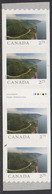 Canada 2020 $2.71 Cabot Trail Strip Of 4 With Gutter Ex Coil From Far And Wide - Unused Stamps