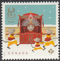 Canada 2020 (P) Year Of The Rat - Unused Stamps