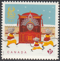 Canada 2020 (P) Year Of The Rat Ex Booklet - Unused Stamps