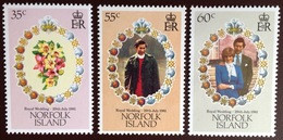Norfolk Island 1981 Royal Wedding MNH - Norfolk Island