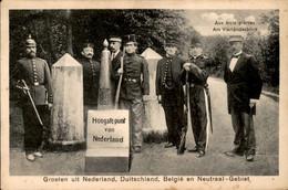 Vaals - Aken - Grenze - Kelmis - Moresnet - Aachen - Bleyberg - Vierländerblick - Neutral Gebiet - Aachener Wald - 1915 - Vaals