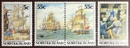 Norfolk Island 1987 Bicentenary Of Colonisation Ships MNH - Norfolk Island
