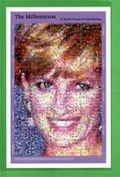 (Cl.Bl)   Gambia-Fotomosaico In Foglietto  Di Lady Diana - Gambia (1965-...)