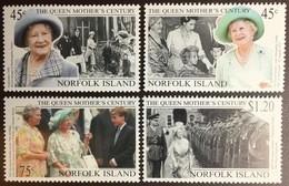 Norfolk Island 1999 Queen Mother MNH - Norfolk Island
