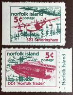 Norfolk Island 1999 Aircraft Booklet Stamps MNH - Norfolk Island