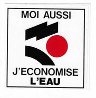 498 - AUTOCOLLANT - DEPARTEMENT ILLE ET VILAINE (35) MOI AUSSI J'ECONOMISE L'EAU - Stickers