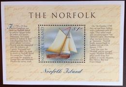 Norfolk Island 1998 Bicentennial Navigation Of Tasmania Ships Minisheet MNH - Norfolk Island