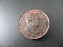 Medaille Sachsen Weimar Eisenach Auf Den Tod Von Karl August 1828 Von Loos - Unclassified