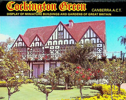 (Booklet 119) Australia - ACT - Cockington Green (display Miniature) With Envelope (cricket - Stadium - Train Etc) - Canberra (ACT)