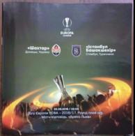 Football -  Program UEFA Europa League 2016-17 Shakhtar Donetsk Ukraine - Istanbul Basaksehir FK  Turkey - Books