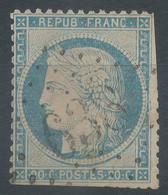 Lot N°60281   Variété/n°37, Oblit GC 638 Brion-près-Thouet, Deux-Sèvres (75), Ind 16, Filet EST, Tache Blanche Coté - 1870 Besetzung Von Paris