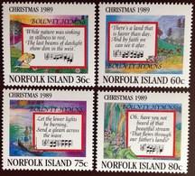Norfolk Island 1989 Christmas MNH - Norfolk Island