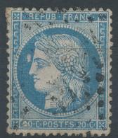 Lot N°60282   N°37, Oblit GC - 1870 Besetzung Von Paris