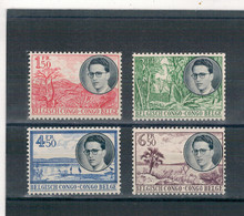 1955 - Koninklijke Reis Door Congo - Beeltenis Van Koning Boudewijn En Landschappen. - 1947-60: Mint/hinged
